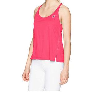 ASICS Pixel Pink XL Ventilated Tank Top